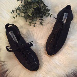 Gloria Vanderbilt Shoes - •Gloria Vanderbilt• Lace Up Peep Toe Espadrille